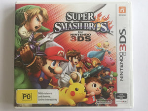 Super Smash Bros Complete In Original Case