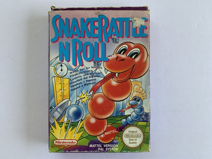 Snake Rattle N Roll Complete In Box