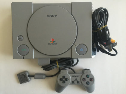 Sony Playstation 1 Console With Controller
