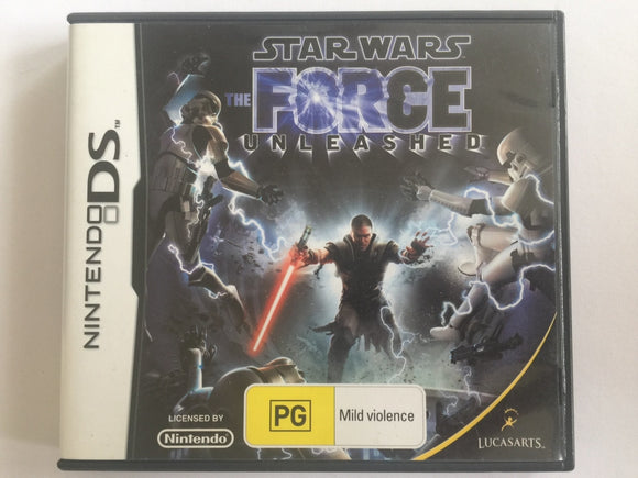 Star Wars The Force Unleashed Complete In Original Case