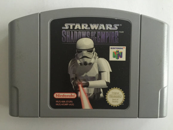 Star Wars Shadow of The Empire Cartridge