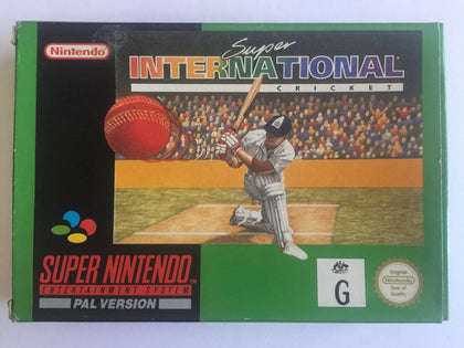 Super Inernational Cricket Complete in Box