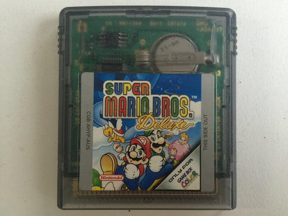Super Mario Bros Deluxe Cartridge