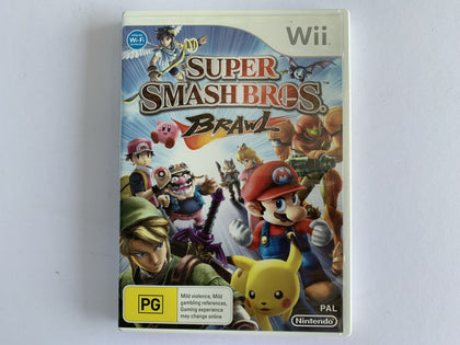 Super Smash Bros Brawl Complete In Original Case