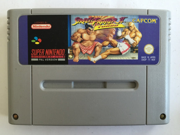 Super Street Fighter 2 Turbo Cartridge