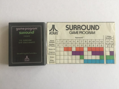 Surround Cartridge and Game Manual