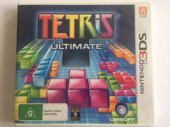 Tetris Ultimate Complete In Original Case