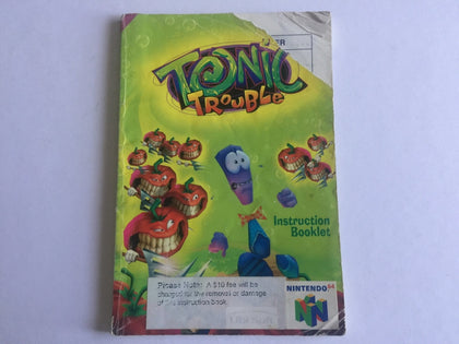 Tonic Trouble Game Manual