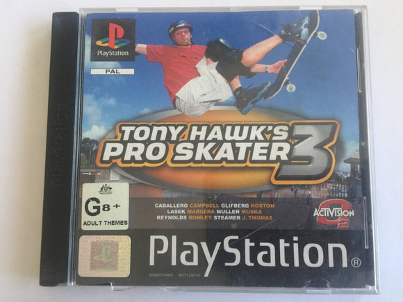 Tony Hawk's Pro Skater 3 Complete In Original Case
