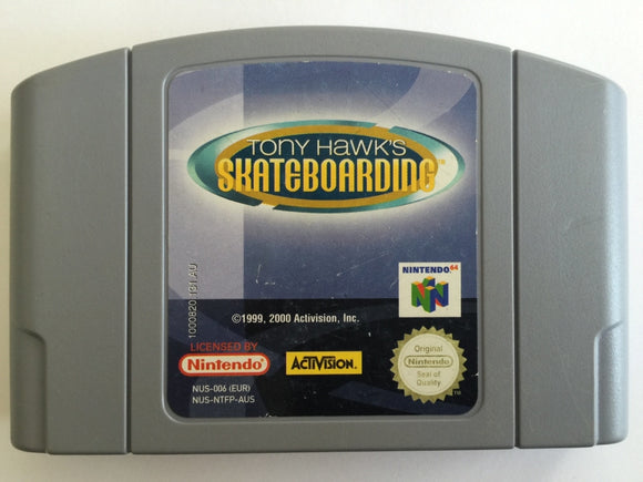 Tony Hawk's Skateboarding Cartridge
