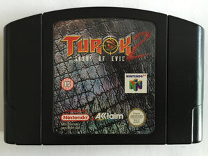 Turok 2 Seeds of Evil Cartridge