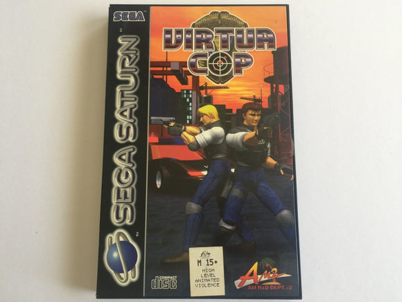 Virtua Cop for Sega Saturn