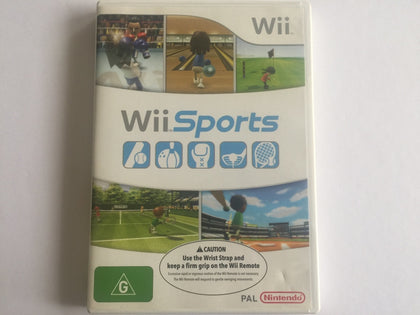 Wii Sports Complete In Original Case