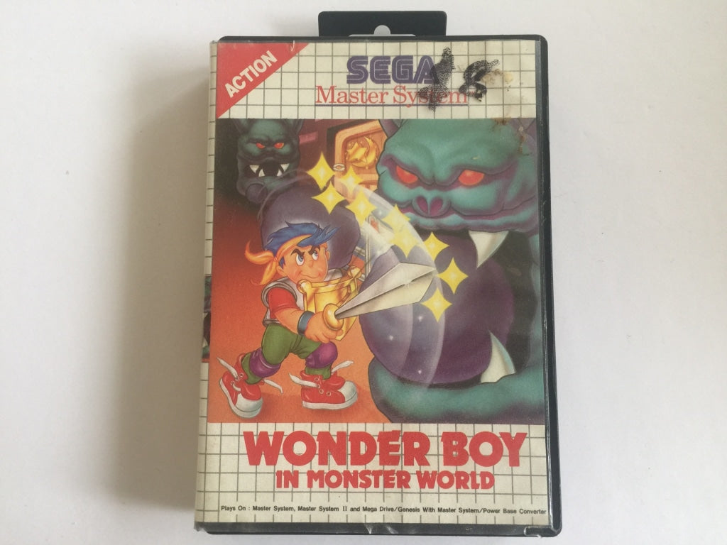 Wonder Boy In Monster World In Original Case