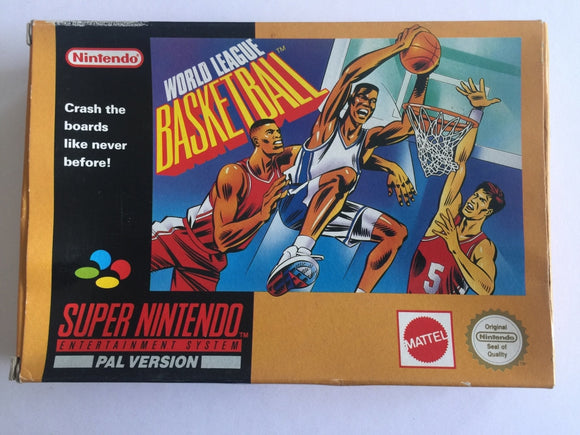 World League Basketball Complete in Box