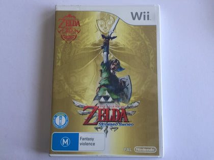 The Legend Of Zelda Skyward Sword Complete In Original Case