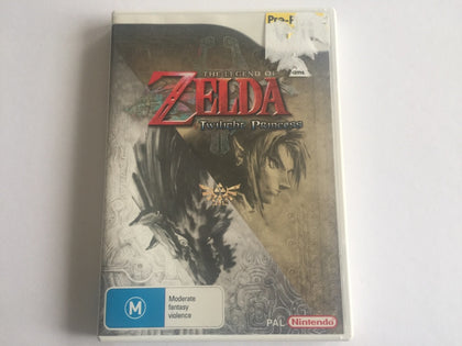 The Legend Of Zelda Twilight Princess Complete In Original Case