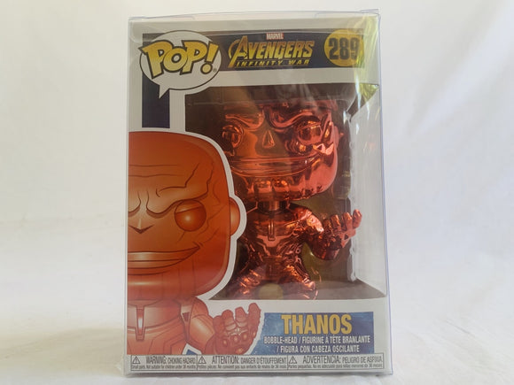 Marvel Avengers 3 Infinity War Red Chrome US Exclusive #289 Funko Pop Vinyl Figure [RS] Brand New & Sealed with Free Pop Protector