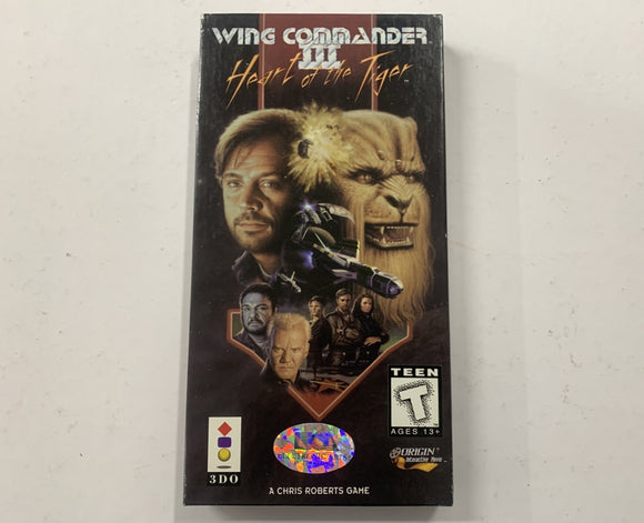 Wing Commander 3 for Panasonic 3DO Complete In Box