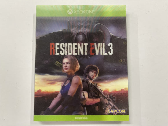 Resident Evil 3 Complete In Original Case with Holographic Cover