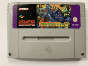 Super Ghoul's N Ghosts Cartridge