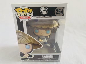 Mortal Kombat Raiden #254 Funko Pop Vinyl Brand New & Sealed