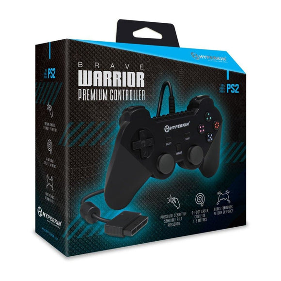 Brand New & Sealed Aftermarket Hyperkin Brave Warrior Premium Controller for Playstation 2/PS2