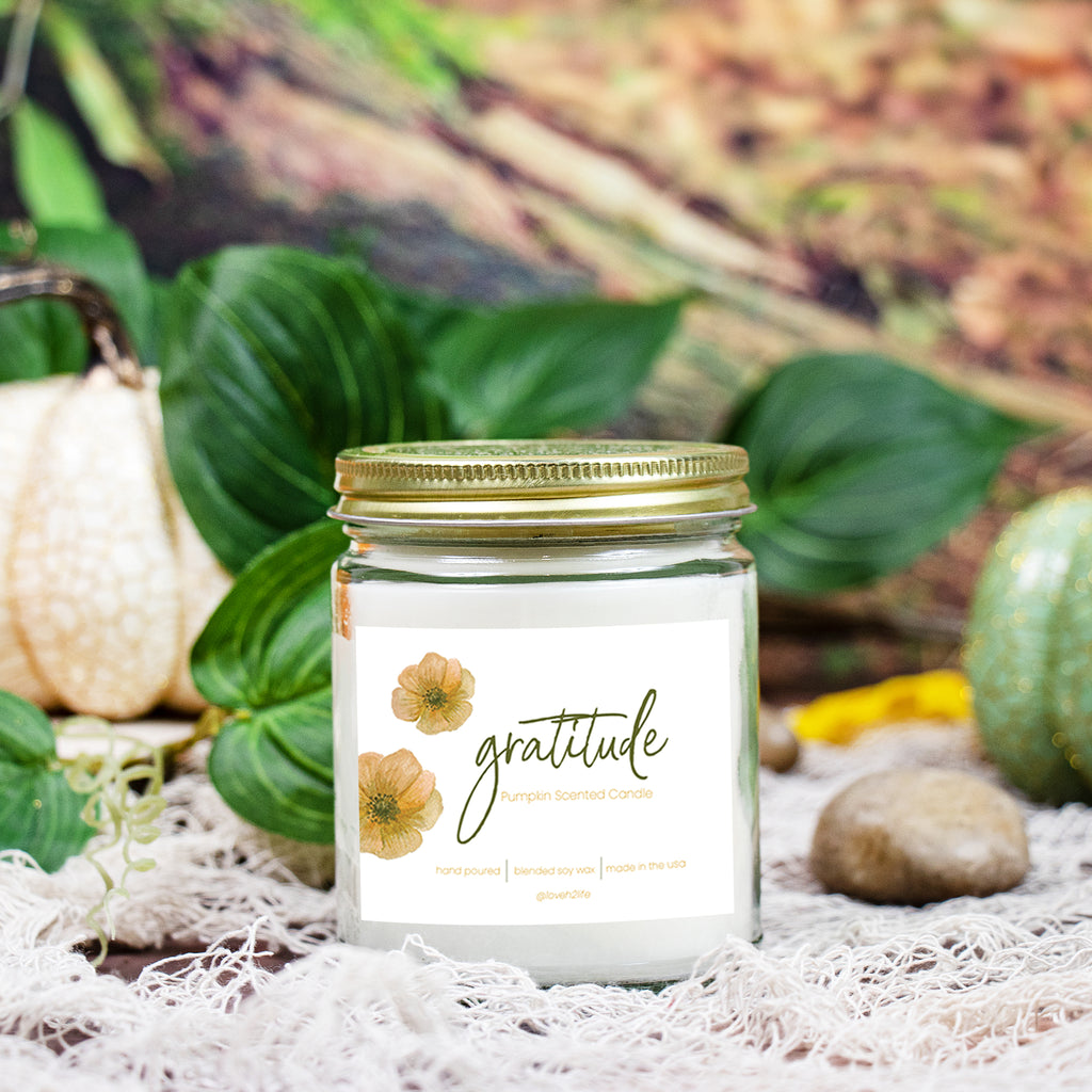 Gratitude Eco Intention Candle