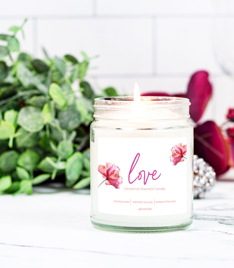Love Eco Intention Candle