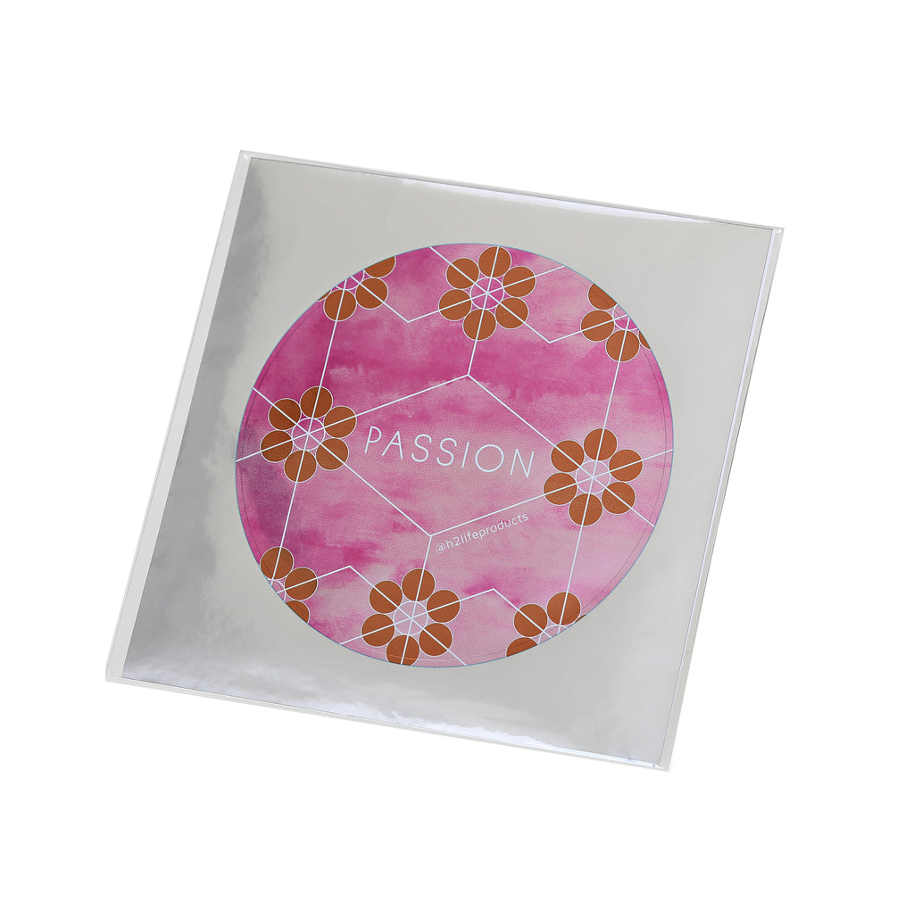 Passion Hi-Vibe Sticker - Metallic