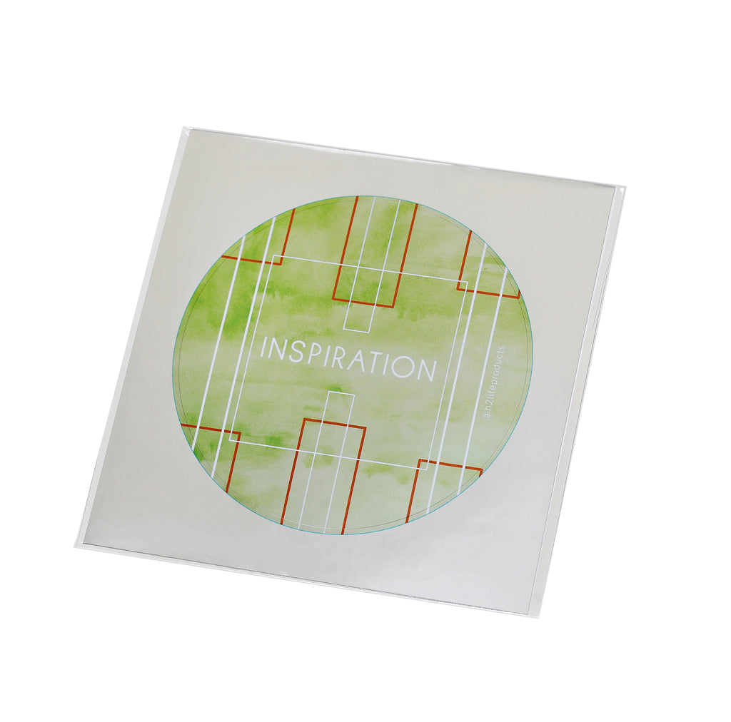 Inspiration Hi-Vibe Sticker - Metallic