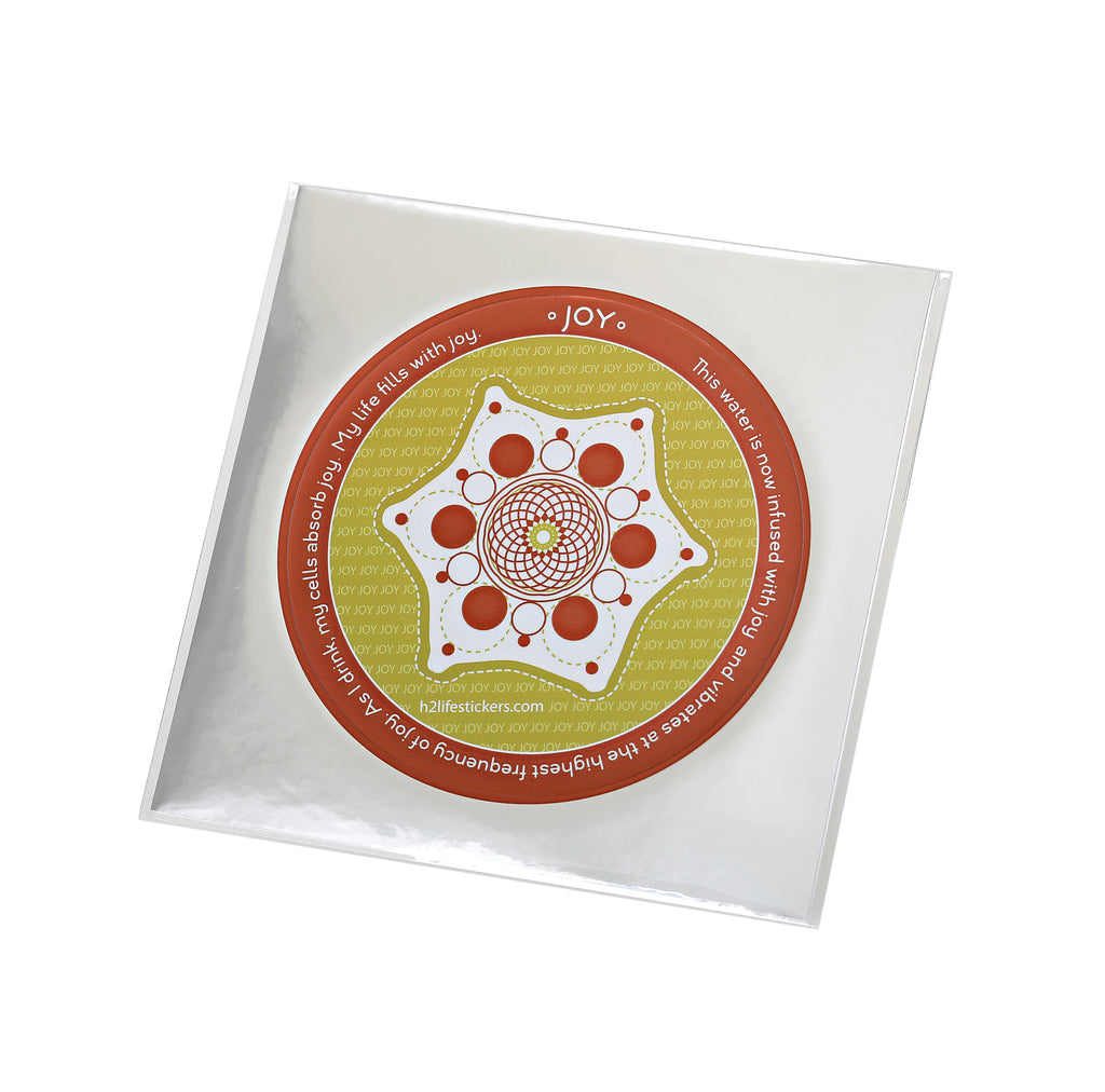 Joy Hi-Vibe Sticker - Sacred Geometry