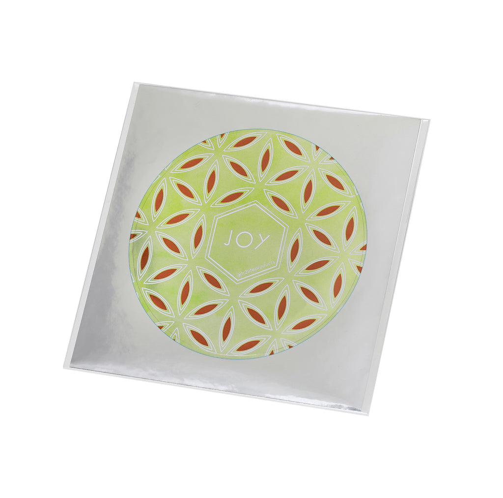 Joy Hi-Vibe Sticker - Metallic