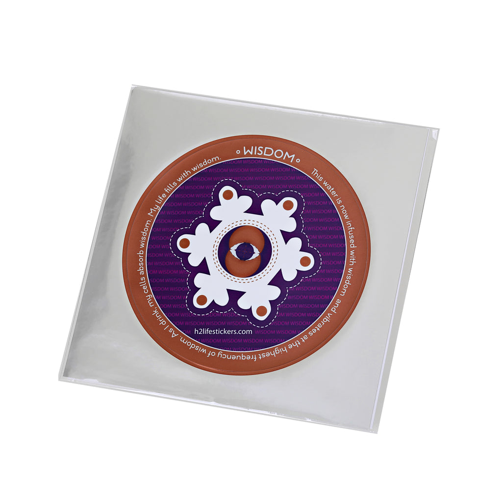 Wisdom Hi-Vibe Sticker - Sacred Geometry