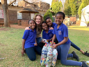 Potch Brownies setting the ecobrick scene