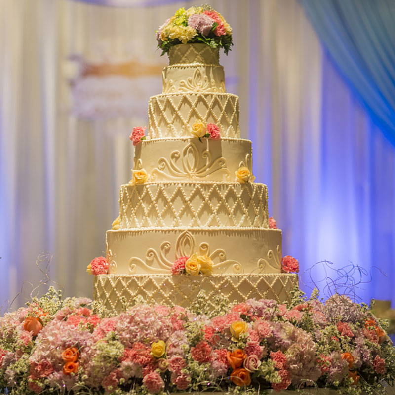 5 Tips To Pick Your Wedding Cake Size