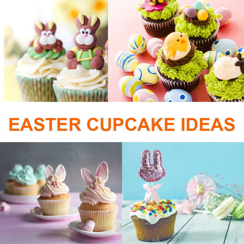 10 Easter Cupcake Ideas 2020