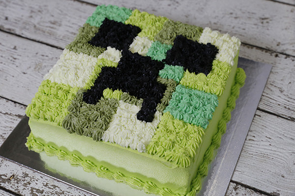 icing-mine-craft-cake
