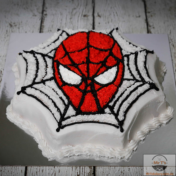 spider-man-birthday-cake