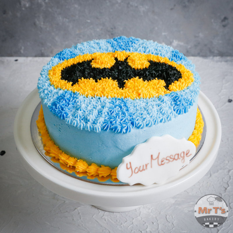 batman-round-cake-brisbane