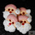 Christmas Santa Meringue - Box of 4