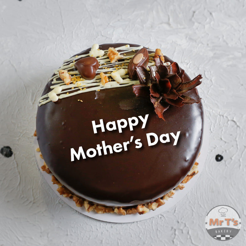 Happy Mother's Day Ganache Cake