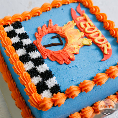 brisbane hot wheel cake