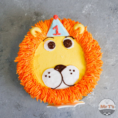 lion-face-king-cake