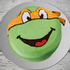 ninja-turtle-mickey-orange-birthday-cake
