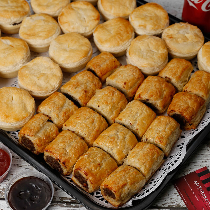 Party Pies And Sausage Rolls Catering Platter