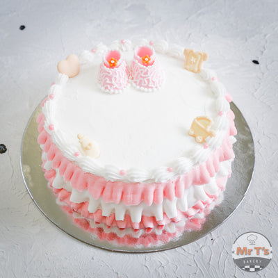 pink-shoes-baby-shower-cake