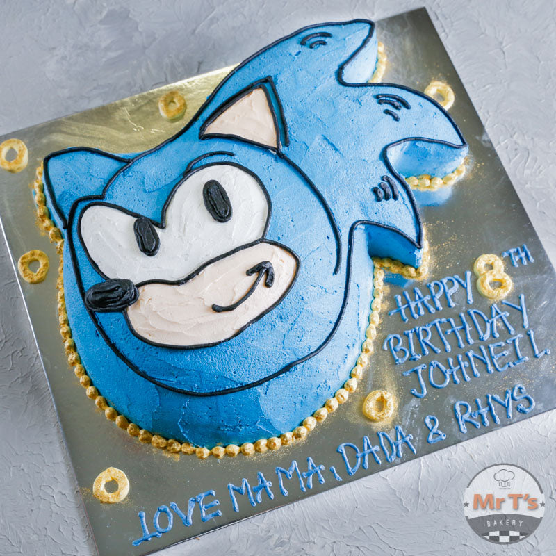 sonic-hedgehog-cake-brisbane