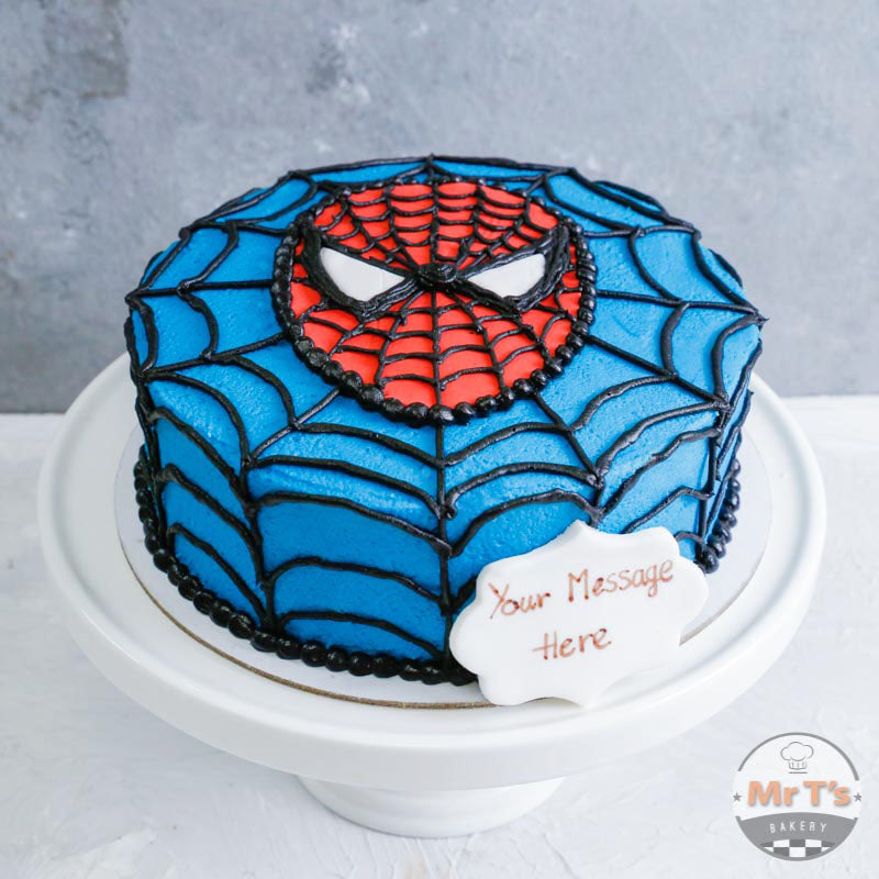 spiderman-birthdaycake