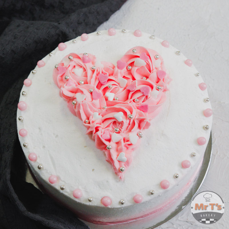 valentine pink cake delivery brisbane city